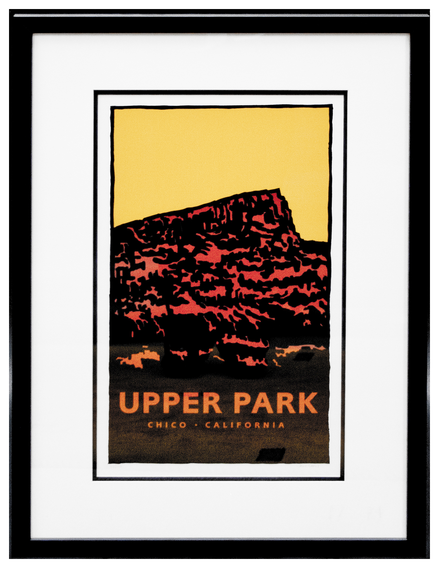 Upper Park Framed Secondary Market Print