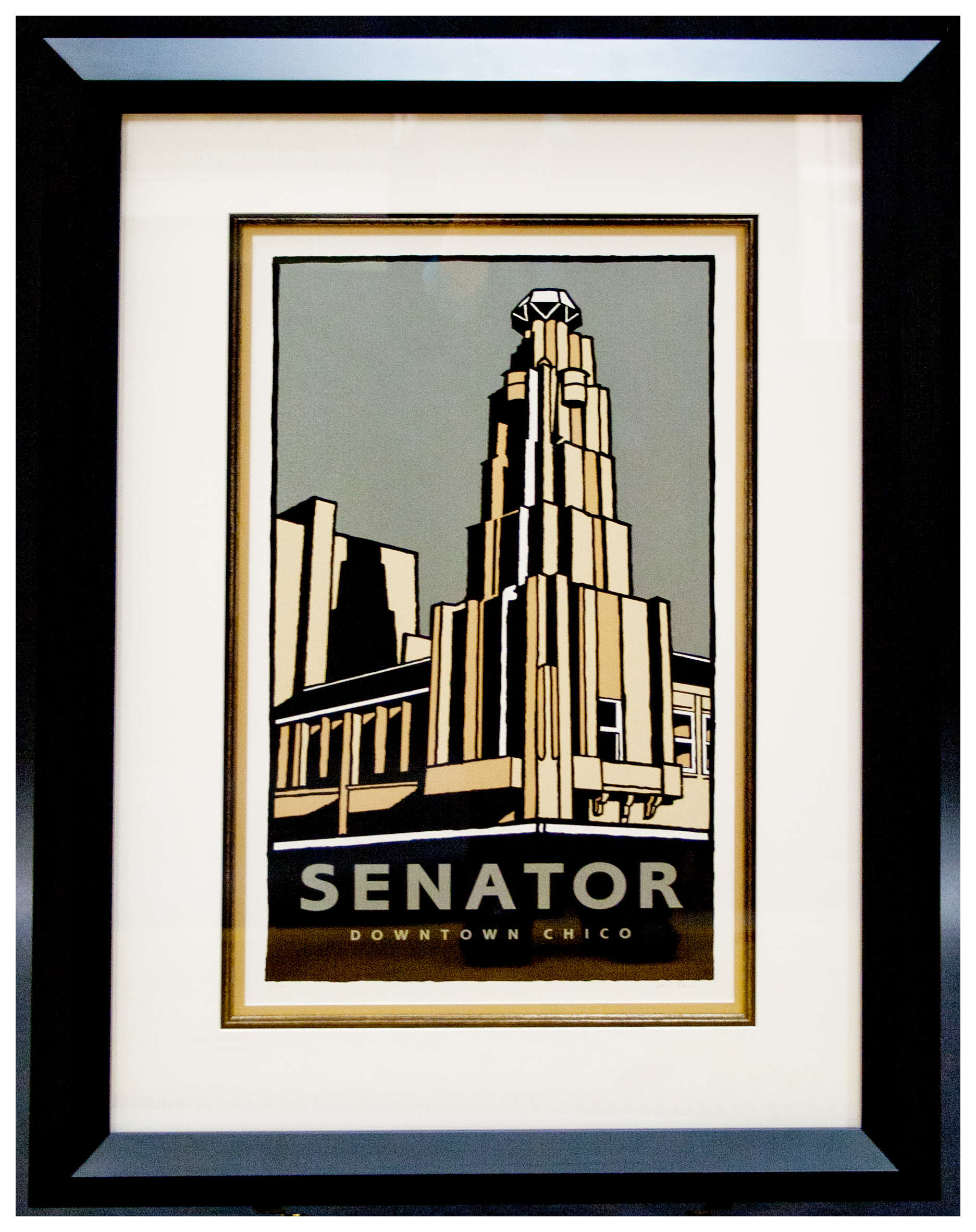Senator Framed Secondary Market Print