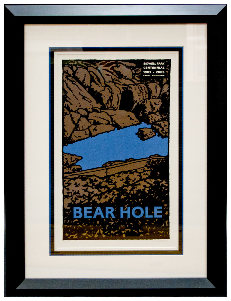 Bear Hole Framed Secondary Market Print